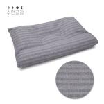 [수면공감] 우유베개 커버(50x70)/그레이