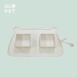 돌돌 펫 식판(휴대용 강아지 밥그릇, 접이식 밥그릇)