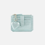 Dijon 301S Flap mini Card Wallet Mint Pearl 디종 카드 월렛 민트펄