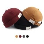 [디꾸보]패션 코튼패치 와치캡 모자 HN663