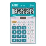 누리안 일반용 컬러 계산기 NR-811(블루/그린/오렌지/레드) 전자계산기/탁상형/12자리/'00'입력/메모리계산/MU계산/소수점지정/자동전원꺼짐/듀얼전원