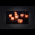 LED 캔버스 조명액자 - 러이끄라통 축제