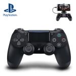 PS4 SONY 듀얼쇼크4 제트블랙 (스마트폰 마운트 포함)