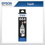 엡손(EPSON) 정품 잉크 T664100 Black T6641 L100 / L110 / L200 / L210 / L300 / L350 / L355 / L550 / L555 검정잉크
