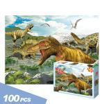 TPD 100-210 다이노소어 공룡 100조각 직소퍼즐