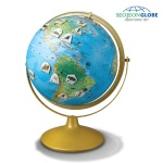 서전지구 세계여행 자석 지구본 HW1-320