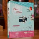 카메라 포켓식 포토앨범(5x7) (50매) (스카이)