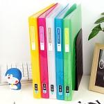 밋밋함은 가라~속지 40매 장착 A4 Glossy 클리어화일-청운그린화일 Color Chip HB183