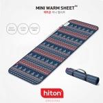 히트온 물세탁 웜시트 미니 전기매트 LHT-013CT