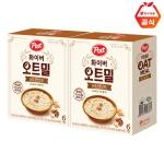 포스트 화이버 오트밀 너트앤오트 180g 2개