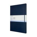 몰스킨 아트컬렉션-스케치북/사파이어블루 하드 A3