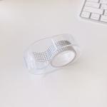 마스킹 테이프 휴대용 컷팅기 투명 마테 커터기