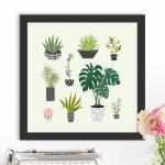 ct624-식물들_인테리어액자