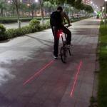 실속형블록 레이저 테일 자전거 후미등