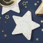 골드 별모양 장식용 파티냅킨 Star Gold Paper Napkin