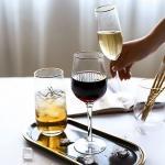 골드라인 심플 와인 샴페인잔 1개