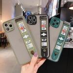 아이폰11 PRO MAX XR XS 반투명 스트랩 실리콘 케이스