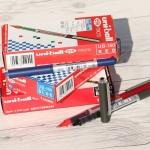 부드럽게 써지는 0.5mm 생잉크 수성펜-미쓰비시 유니볼 eye micro UB-150 1다스(12개입)
