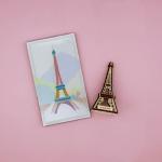 우드썸-에펠탑 랜드마크 원목 입체퍼즐