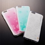 향기나는 아이폰6,6s 케이스,말랑말랑한 촉감의 독특한 푸딩케이스 플라워패턴