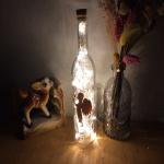 와인병 LED 조명 미니 화이트(200ml)