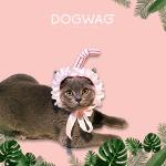[도그웨그 DOGWAG] 쥬시 스트로우 머리띠 여름모자