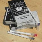 [Kuretake] 1mm Square Tip...일본 쿠레다케 지그 캘리그라피펜 1다스(12자루) PC-110 HF125-1