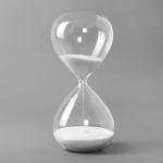 글라스타임 유리 모래시계(60분) (화이트)