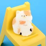 핸드 그립 스마트 고양이 냥 트윈 젤리 톡 냥이