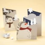 크리스마스 미니 카드