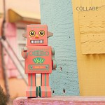 DIY Robot No.3 Paper Craft