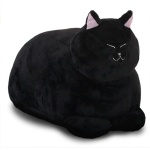 식빵뚱냥 고양이 인형 - 까망