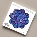 제이씨핸즈 이너플라워손수건 06_Flower of Blue