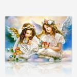 사랑스러운 두 천사 DIY 보석십자수 십자수 비즈세트