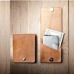 [Mr.lentz]Leather Wallet 핸드메이드 가죽지갑 카드지갑 반지갑-Jasper