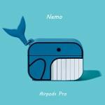 에어팟프로 3세대 고래 캐릭터 케이스 321 블루_pro