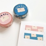 [밤토리상점]거꾸로 밤토리 마스킹테이프 2종