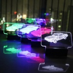 3D LED주차번호판