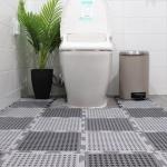 욕실미끄럼방지 퍼즐매트 화장실 베란다 현관 PVC