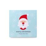 [인디고샵] 눈꽃산타 카드