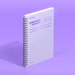[모트모트] 텐미닛 플래너 100DAYS - 바이올렛