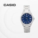 카시오 아날로그 남성 커플 손목시계 MTP-1183A-2A