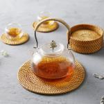 라탄 코스터 컵받침 티코스타 코스타 원형 소