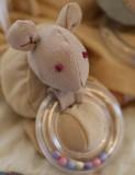 [DIY]천연염색 쥐딸랑이 만들기