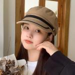 날루 뉴스보이캡 여성 팔각모 빵모자 모자