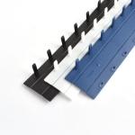 [현대오피스] 스트립12.5mm [흰색] 1BOX-100개 (약101~125매제본)