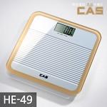 카스(CAS) 프리미엄 글라스 디지털 체중계 HE-49-WH