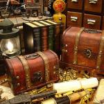 골동품 보물상자 박스(2set)