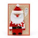 025-cm-0078 / 산타 인형 카드
