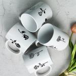 cf981-디자인머그컵4p-16가지의장미꽃송이